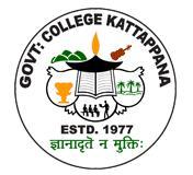 Govt. College, Kattappana - 685 508 logo