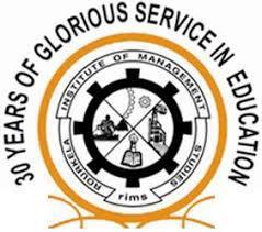 R.I.M.Studies,Chhend logo