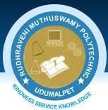RUDHRAVENI MUTHUSWAMY POLYTECHNIC COLLEGE logo
