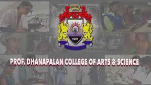 PROF DHANAPALAN COLLEGE FOR WOMEN logo
