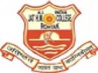 A.I.J.H.M.College, Rohtak. logo