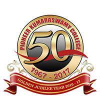 Pioneer Kumaraswamy College, Vettoornimadam, Nagercoil - 629 003. logo