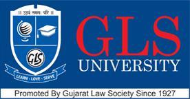 GLS UNIVERSITY logo