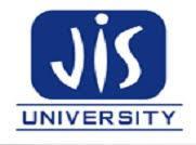JIS UNIVERSITY logo