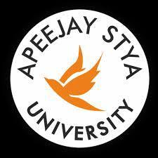 Apeejay Stya University, Sohna logo