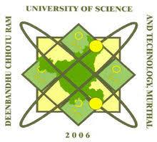 DEENBANDHU CHHOTU RAM UNIVERSITY OF SCI AND TECH logo