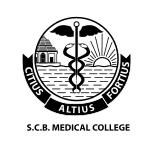 S.C.B.MEDICAL COLLEGE logo