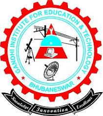 GANDHI INSTITUTE FOR EDUCATION & TECHNOLOGY logo