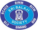 Sri Balaji Society, Balaji Institute of Modern Management logo