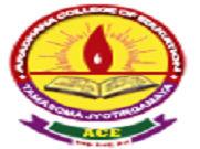 Aradhana College Of Education logo