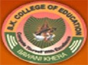 BK College of Education logo