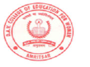 DAV College of Education for Women logo