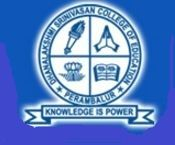 Dhanalakshmi Srinivasan College of Education logo