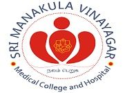 Sri Manakula Vinayagar Medical College and Hospital, Pondicherry logo
