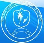 Millath College of Teacher Education sooranadu logo