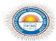 Jogesh Chandra Chaudhuri College logo