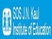 Sos JN Kaul Institute of Education logo