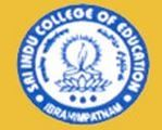 Sri Indu College Of Education logo