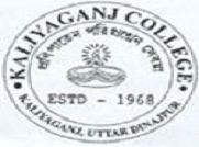 Kaliyaganj College logo