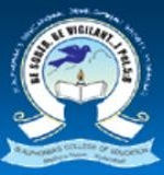St Alphonsa College Of Education logo