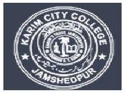 Karim City College, Jamshedpur logo