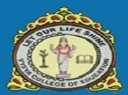 Vysya College of Education logo