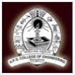 APS College of Engineering logo