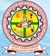 Vaageswari Institute Of Pharmaceutical Sciences logo