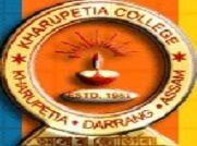 Kharupetia College logo