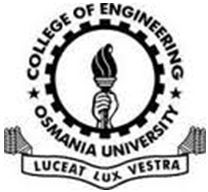 University College of Engineering Osmania University logo