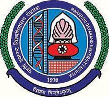 University Institute of Engineering and Technology Maharishi Dayanand University logo