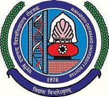 University Institute of Engineering and Technology Maharishi Dayanand University logo