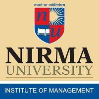 Institute of Management, Nirma university logo