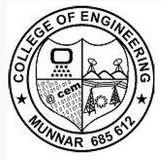 College of Engineering Munnar logo