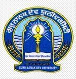 Guru Nanak Dev University Regional Campus logo