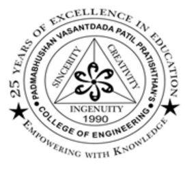 Padmabhushan Vasantdada Patil Pratishthans College of Engineering logo