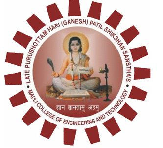 Mauli Group of Institution's College of Engineering and Technology logo