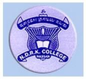 NDRK First Grade College logo