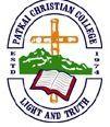 Patkai Christian College logo