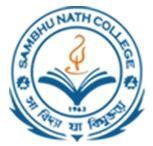 Sambhunath College logo