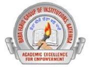 Baba Farid College Deon logo