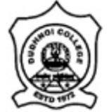 Dudhnoi College logo