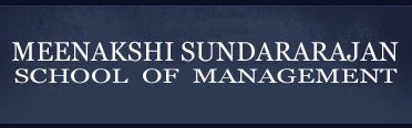Meenakshi Sundararajan School of Management logo
