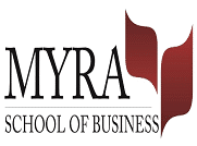 MYRA School of Business logo