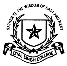 Dyal Singh College logo