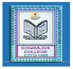 Sonamukhi College logo