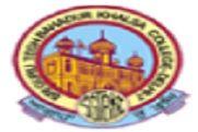 Sri Guru Teg Bahadur Khalsa College logo