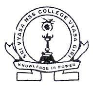 Sree Vyasa Nss College Vyasagiri Wadakkanchery logo