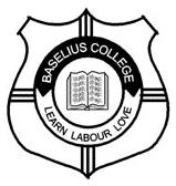 Baselius College logo