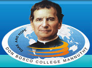 Don Bosco College Mannuthy logo